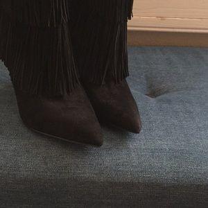 Sam Edelman Shoes - Sam Edelman booties. Black suede. Size 7